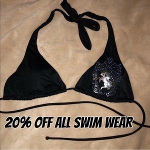 RARE Victoria's Secret halter bikini top w/ horse